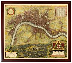 London Maps Rome Paris London Maps Framed Set Battlemaps Us
