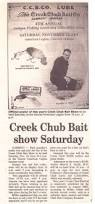 creek chub bait co history