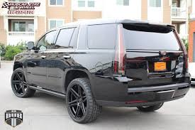 cadillac escalade with black rims cadillac escalade dub skillz s123 wheels black machined with