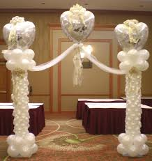 wedding arch balloons top hat balloon werks balloon event decorations orange county