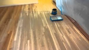 Hardwood Flooring Sealer Hardwood Floor Minwax Sanding Sealer Youtube