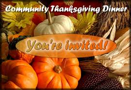 community thanksgiving dinner cassidy united methodist church