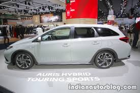 2018 toyota auris touring sports side at iaa 2017 indian autos blog