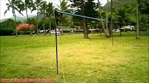 Backyard Volleyball Nets Park U0026 Sun Tournament 179 Outdoor Volleyball Net System Review