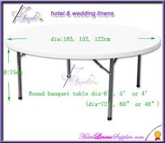 Banquet Table Linen - 4ft 6ft 8ft polyester linen tablecloth spandex table cover for