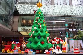 Christmas Decorations Shops Sydney by Sydney City And Suburbs Pitt Street Mall Lego Christmas Tree