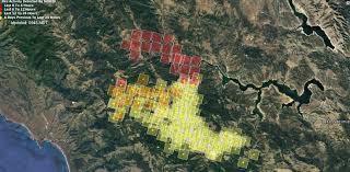 San Simeon Map Update Hearst Castle Reopens Chimney Fire Evacuation Orders