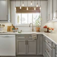 small kitchen grey cabinets 75 beautiful small kitchen pictures ideas april 2021