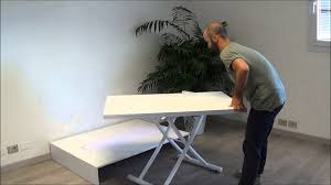 elevate coffee table dining table for small spaces youtube