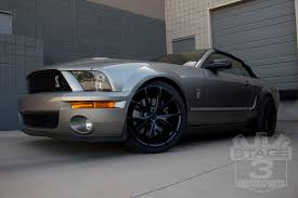 2007 Mustang Black Rims 2008 Gt500 Gets An Upgrade With Niche Misano Wheels Nitto Front