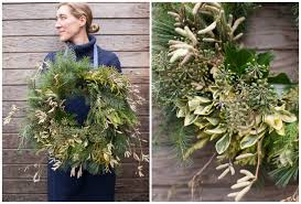 how to foraged wreath floret flowers
