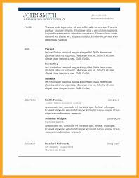 resume template pages resume template for pages awesome one page resume outline