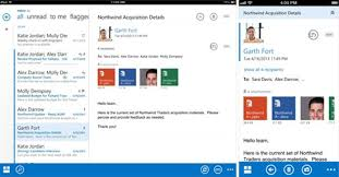 outlook web app android new mobile apps for office 365 owa for iphone and it pro