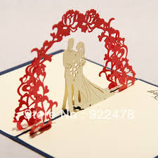 best wishes for wedding card best designs of handmade pop up wedding card handmade4cards