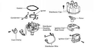 igniter and pick up coils for toyota 4a fe distributors toyota
