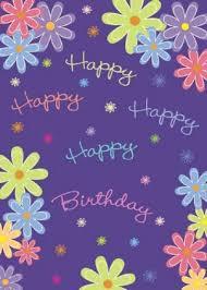 vertical birthday cards 123print uk