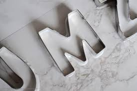 metal decorative letters home decor diy home decor decorative letters the things she makes