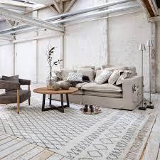 Wohnzimmerm El Vintage Teppiche Und Läufer Im Vintage Stil Aus Natürlichen Materialien