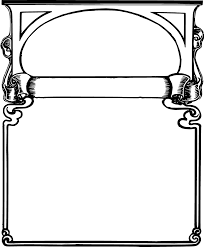 cool frame borders and frames clipart