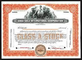 coca cola international corp nd ca 1920 40 u0027s specimen stock