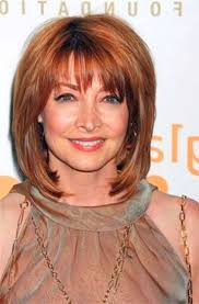 haircuts for women over 50 with bangs hair style shoulder length hair cuts styleium with fringe the