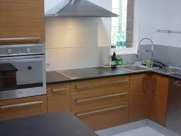 cuisine hetre clair cuisine blanc laque avec ilot 14 chantier du mois cuisines crozes