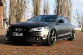 audi s5 modified avus performance have modified the audi a5 coupe into a matte