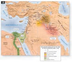 Map Of Israel And Middle East by Bible Maps Precept Austin