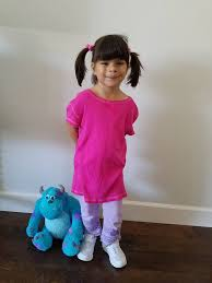 sully costume boo costume easy diy no sew boo costume for this