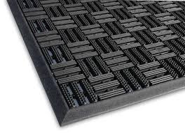 Non Slip Rubber Floor Mats Aquaflow Outdoor Matting Outside Rubber Matting