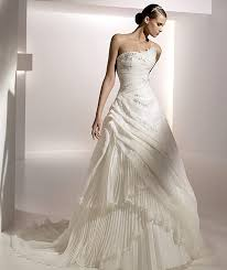 wedding dresses 2010 2010 modern wedding dress by pronovias picture 2 wedding