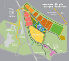 Stirling Scotland Map Collaboration Inverness Campus