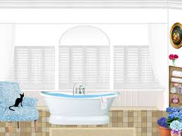 Bathroom Png Free Illustration Bathroom Bath Windows Armchair Free Image