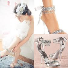 wedding shoes rhinestones new fashion high heels silver rhinestone shoes wedding shoes