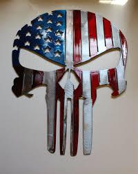 American Flag Skull Email