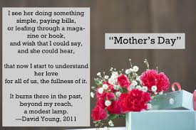 mother u0027s day poems sweet sayings for your mom u0027s card