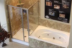 bathroom trendy tub shower combo menards 1 size x small corner
