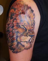 tattoo design lion 75 extreme lion shoulder tattoos