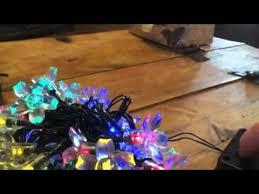 solar powered string lights jobelle flower led solar powered string lights