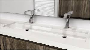 trough sink two faucets wondrous trough bathroom sink with two faucets online simpletask