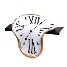 awesome clocks salvador dali style clock trippy but awesome what u0027s fresh