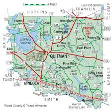 Dallas County Map by Wood County The Handbook Of Texas Online Texas State Historical