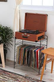 swish vintage record player with and ikea hack record player stand