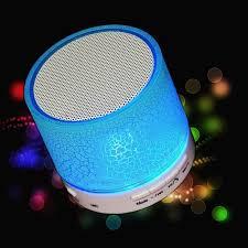 led light bluetooth speaker dancing led light mini wireless bluetooth speaker portable