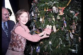 White House Christmas Ornament - photos white house christmas trees through the years us news