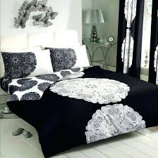 duvet covers black and cream single duvet covers cheap black