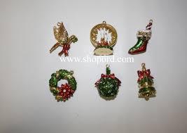 hallmark 2003 symbols of set of 6 keepsake ornament club