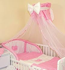 Cot Bed Canopy Luxury Baby Cot Cotbed Canopy Drape Mosquito Net Big 485cm With