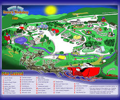 santa map map