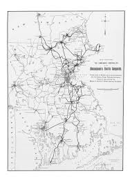 Train Map Of Boston by